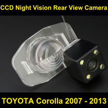 Автомобильная камера заднего вида для Toyota Corolla 2007 2008 2009 2010 2011 2012 2013 CCD Ночное видение Обратный Парковка Камера