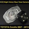 Widok z tyłu samochodu kamera dla TOYOTA Corolla 2007 2008 2009 2010 2011 2012 2013 CCD Night Vision cofania kamera parkowania