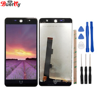 BKparts Free Shipping 1pcs LCD For Wileyfox Swift 2 Swift2 Full LCD Display Touch Screen Tools