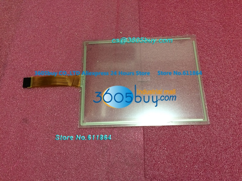 New RES-10.4-PL8 Touch Screens glass 8 inch Wire P/N 95422B Microtouch