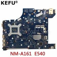 KEFU NM-A161 для lenovo AILE2 NM-A161 E540 материнская плата для ноутбука для lenovo ThinkPad Edge E540 плата rev1.0 Тесты PGA947