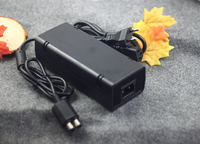 Quality For Xbox 360 Slim Microsoft Power Supply Brick AC Charger X360 Power Adapter Cable Cord