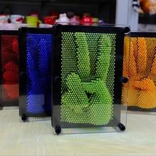 Прави пластични играчка смешна игра Пинарт 3Д клон отисак прста игла поклон
