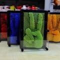 Muito lindo Novidade Plástico funToy piadas engraçadas brinquedos 3D antistress clone impressão digital agulha Lizunov presente da mordaça truque brinquedo tamanho L