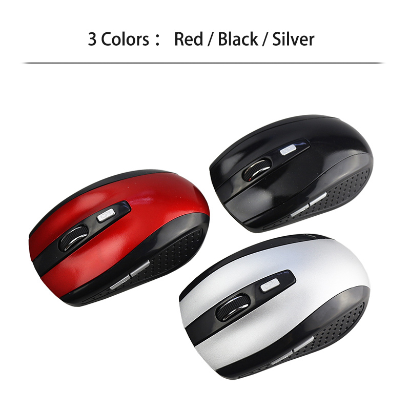 Mini 2.4G Wireless Optical Gaming Mouse 6 Button Mice For Computer PC Laptop NEW