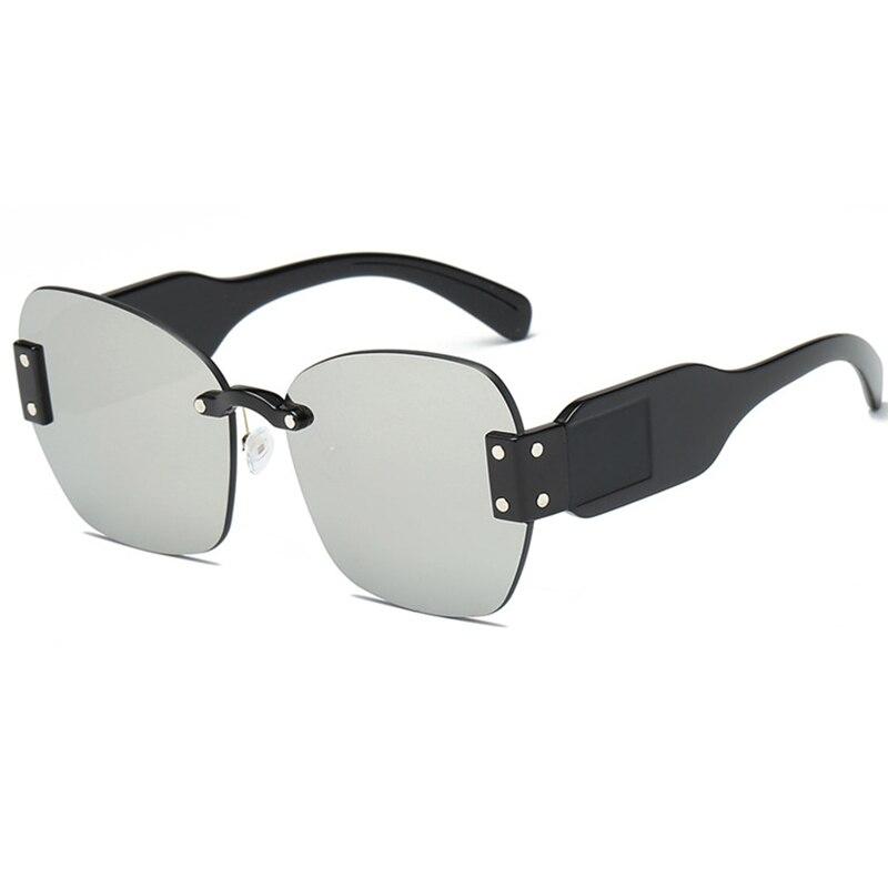 Belmon Fashion Rimless Sunglasses Women Brand Designer Sun Glasses For Ladies Shades Oculos de sol UV400 Female Sunglass RS676 in Women 39 s Sunglasses from Apparel Accessories