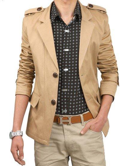 Aliexpress.com : Buy JICK&ampBOFEI Mens Trench CoatBlazer Men&39s