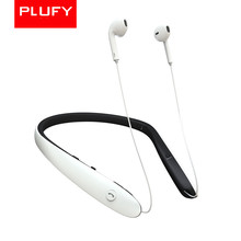 PLUFY Bluetooth Headphones Wireless Neckband Headset Stereo Noise Cancelling Earbuds W/Mic  V4.1 стоимость
