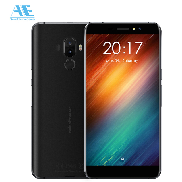 Ulefone S8 Dual Rear Cam MT6580 Quad Core Android 7.0 Smartphone 5.3 Inch 3000mAh 1G RAM 8G ROM Unlock 3G WCDMA Mobile Phone