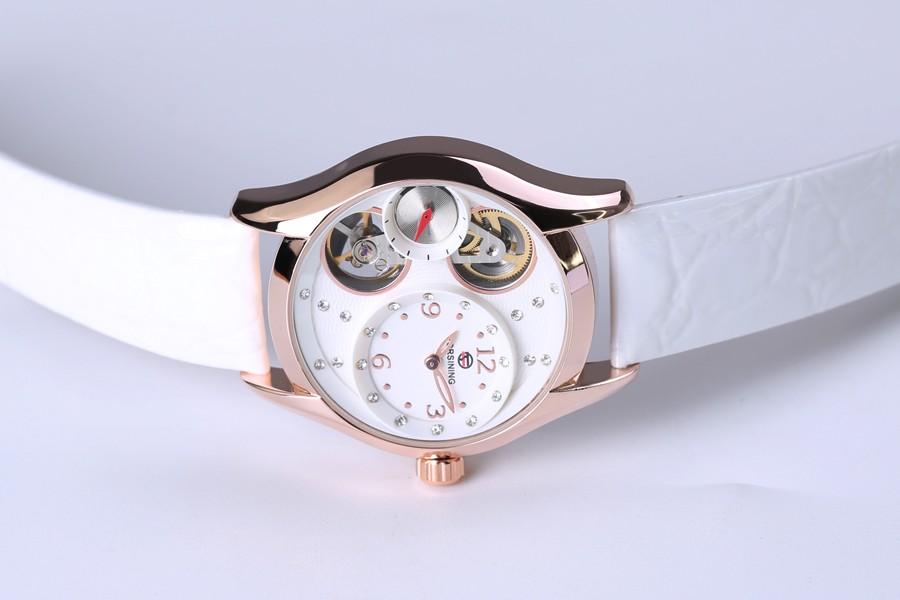 oro relojes mecánico para 7