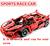 1:10 bela 1359 unids enzoe modelo racing car vehículo diy bloques de construcción de juguete educativo de construcción técnica