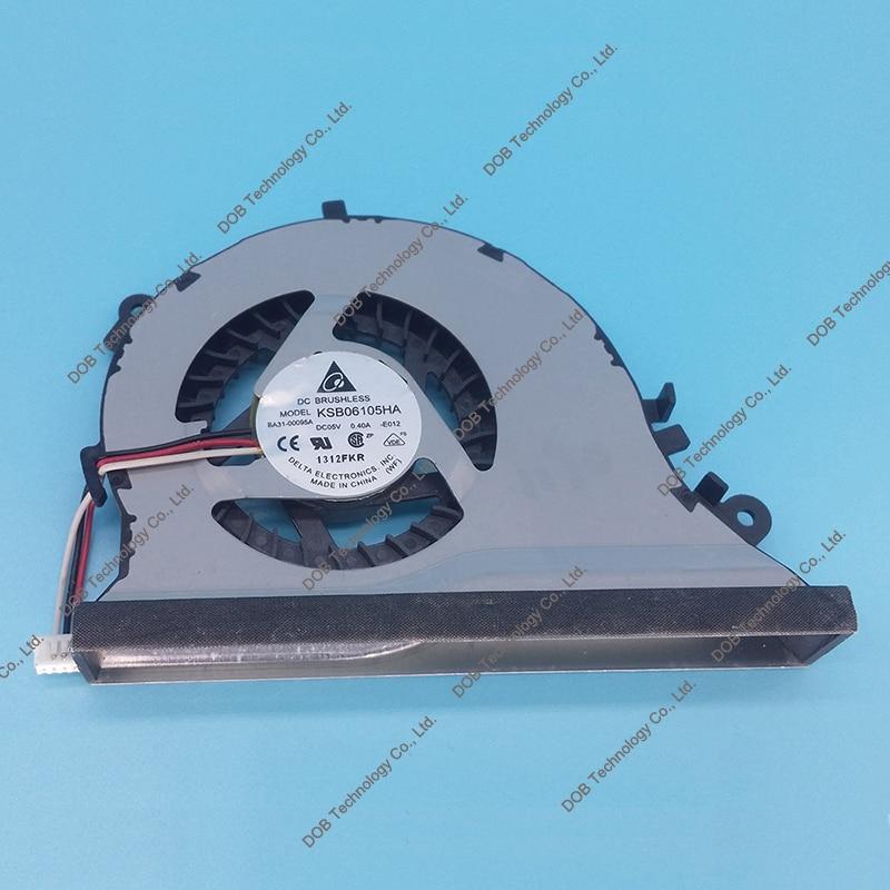 Original CPU COOLING FAN FOR SAMSUNG SF410 QX410 QX411 QX510 QX412 SF510 QX510 QX310 BA31-00095B C-936C KSB06105HA-E012 00095A