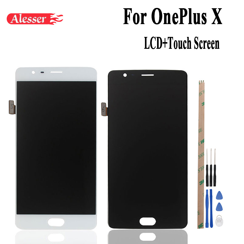 Alesser For One Plus X  LCD and Touch Screen Assembly Repair Parts 5.0 inch  For One Plus X   Phone +Tools+TapesAlesser For One Plus X  LCD and Touch Screen Assembly Repair Parts 5.0 inch  For One Plus X   Phone +Tools+Tapes