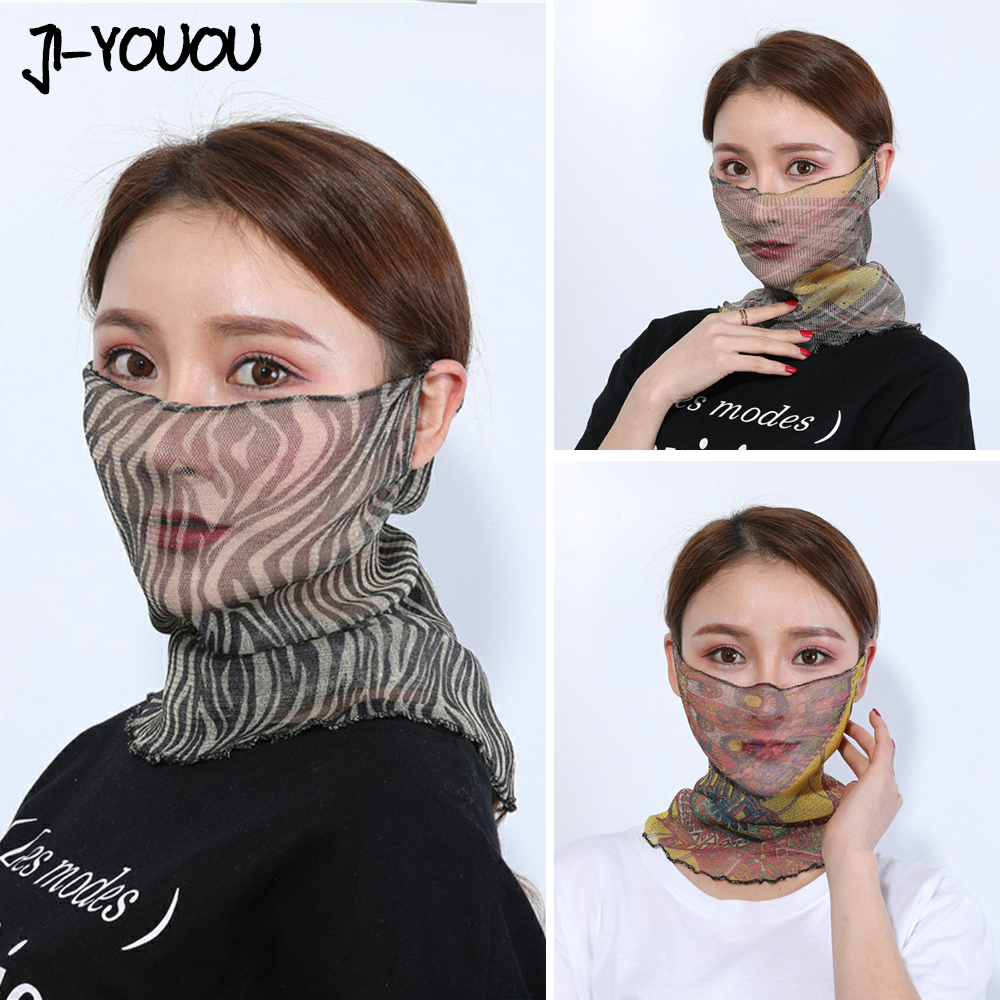 Mask Headscarf Women's Hair Scarf Scarves Hijab Silk Scarf For Women Foulard Femme Bandana Handkerchief Shawls Desigual Summer