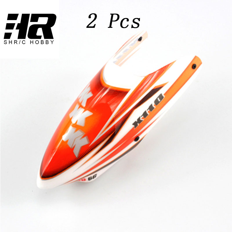 K110 Canopy / Head Cover for Wltoys XK K110 RC Helicopter Spare Parts K110-006 magideal professional 1pc metal tail motor for wltoys xk k110 rc drone helicopter remote control parts