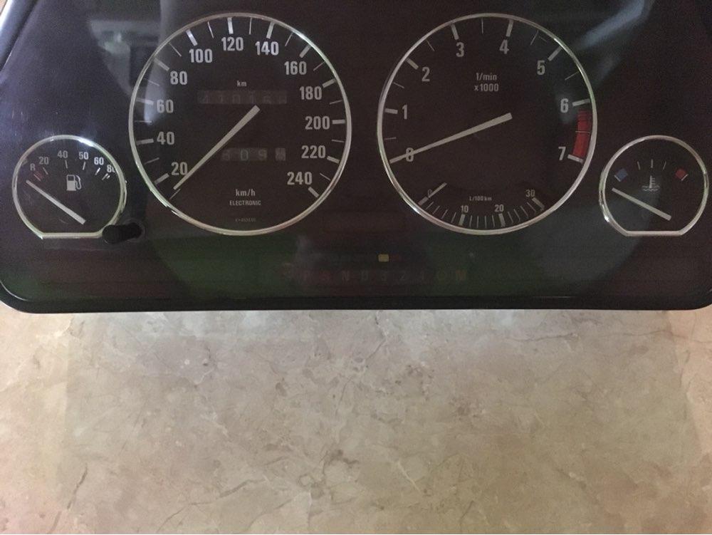 Image 4 - Хромированный набор колец для приборной панели BMW E32/E34-in Хромирование from Автомобили и мотоциклы