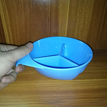 лучшая цена Baby Infant Bowl Snack dishes Silicone Cup Toddler Kid Feeding Food Bowl tazas Snack Storage Container Children Plate Tableware
