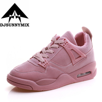 DJSUNNYMIX Brand 2017 NEW Women Sneakers Shoes Autumn Comfortable Breathable Max Air Mesh Flats Female Platform
