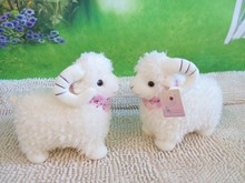 plush toys sheep bedding car act the role ofing doll on valentine's day gift birthday lovely