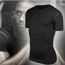 Men Designer Breathable T Shirt Quick Dry Slim Fitness Shirts font b Tops b font font