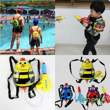 Water Gun Toy Yellow Bee Insect Ladybug Bag Backpack Red Blue Swimwing Pool Outdoor Funny Sports Plastic Gifts For Kid Boy Girl