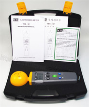 TES 92 EMF Meter Triaxial Data Logger The electromagnetic radiation detector TES92 NEW Original new Made in Taiwan