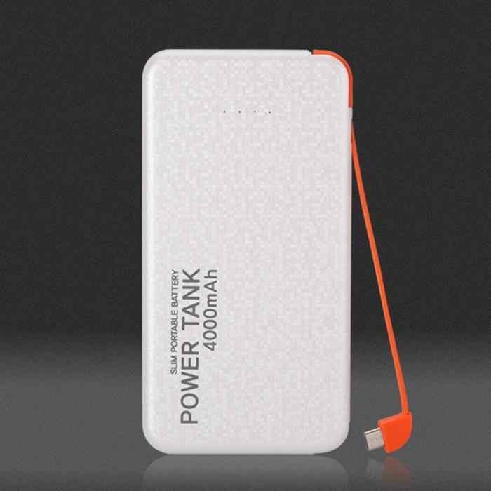 3000/4000 mAh تجدد Powerbank المزدوجة بنك طاقة USB سريع الشحن شاحن بطارية خارجي العالمي Poverbank الهاتف المحمول ل xiaomi
