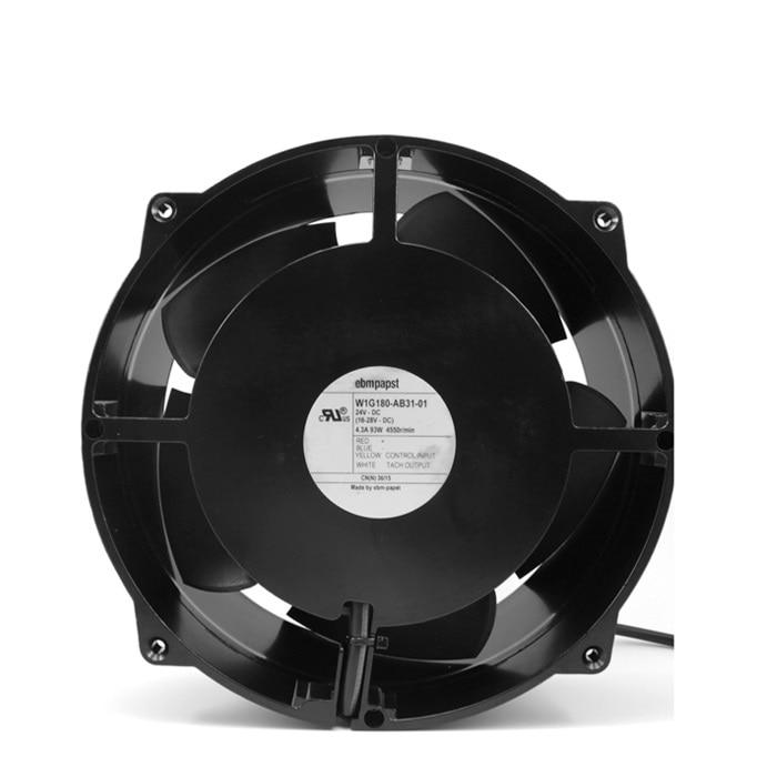 New original W1G180-AB31-01 24V 4.3A93W ABB inverter fan полюс abb 1sca105461r1001