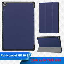 ФОТО m5 10.8 custer flip cover leather case for huawei mediapad m5 10.8 cmr-al09 cmr-w09 10.8 tablet case protective smart cover