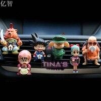 Car Perfume Dragon Ball Cartoon Doll Cool Styling Outlet Air Freshener 8pcs Lot