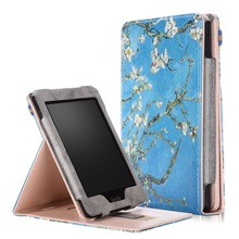 Kindle Paperwhite 1 2 3 Case, Slim Fit Vertical Multi-Viewing Stand PU Leather Cover for Amazon Kindle Paperwhite E-Reader Case