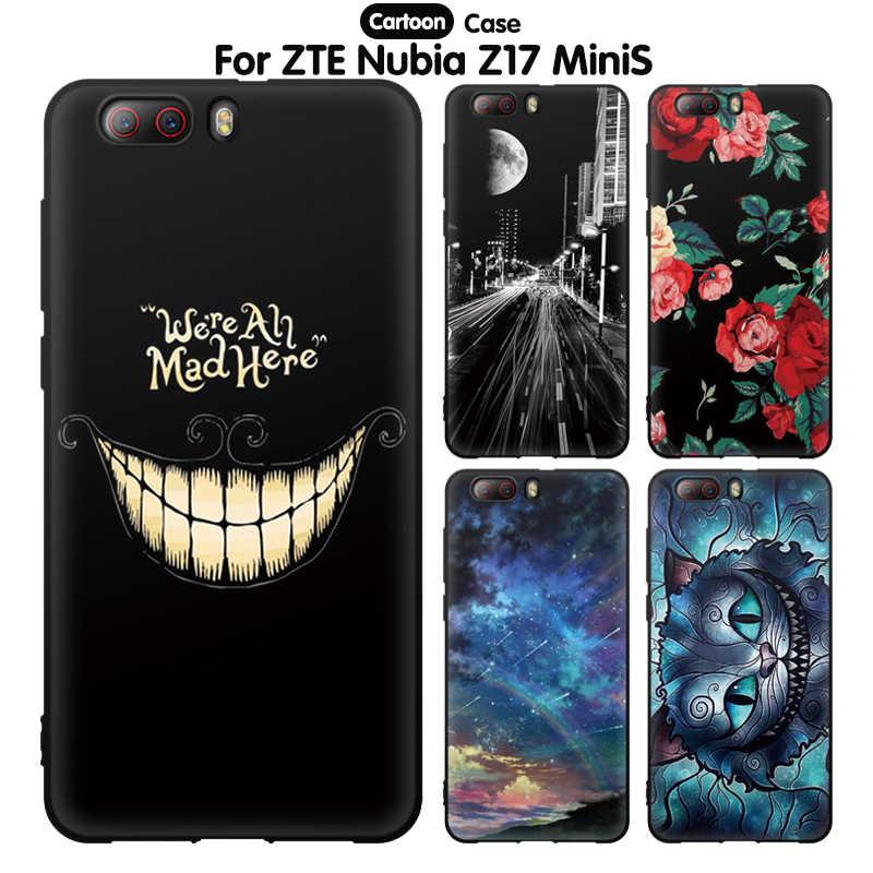 حافظة لهاتف ZTE Nubia Z17 Mini S حافظة لهاتف ZTE Nubia Z17 Mini S حافظة خلفية من السيليكون الناعم عليها رسوم كرتونية لطيفة لهاتف ZTE Nubia Z17 Mini S Z17Mini S