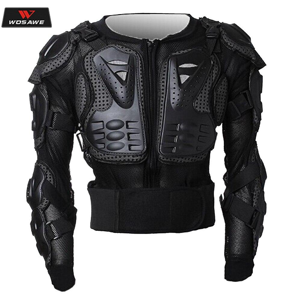 Moto tout le corps équipement de protection armure Motocross moto équitation veste coupe-vent imperméable poitrine dos équipement de protection