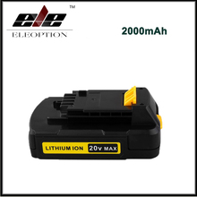 Eleoption 20V Max 2000mAh Lithium Ion Replacement Battery for Stanley Power Tools FMC680L