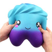 27cm Big Jumbo Stary Tooth Stress Reliever Scented Super Slow Rising Squeeze Toys Squishy Antistress Squeeze Toys Gifts oyuncak