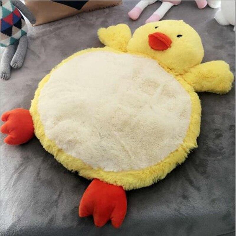 Sunnytad Crawling Blanket Infant Game Pad Play Rug Floor Carpet Baby Gym Activity Room Decor pet mat