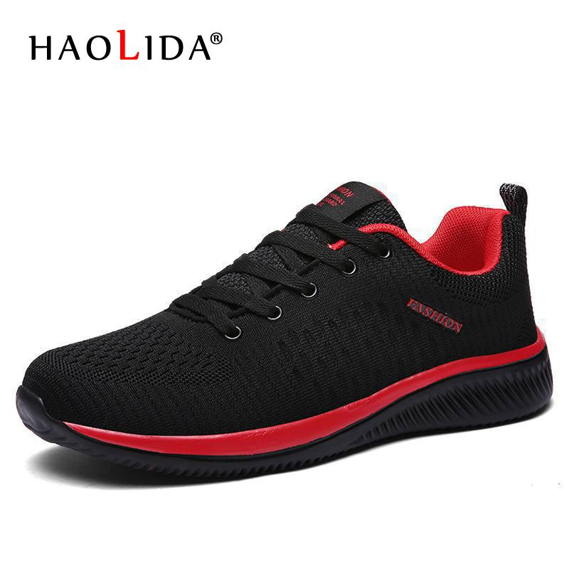 Lovely New Mesh Men Casual Shoes Lac-up Men Shoes Lightweight Comfortable Breathable Walking Sneakers Tenis Feminino Zapatos Tenis Led Men's Shoes Men's Casual Shoes
