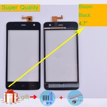 For Wiko Bloom Touch Screen Panel Sensor Digitizer Front Outer Glass Touchscreen For Wiko Bloom Touch Panel Black Replacement все цены