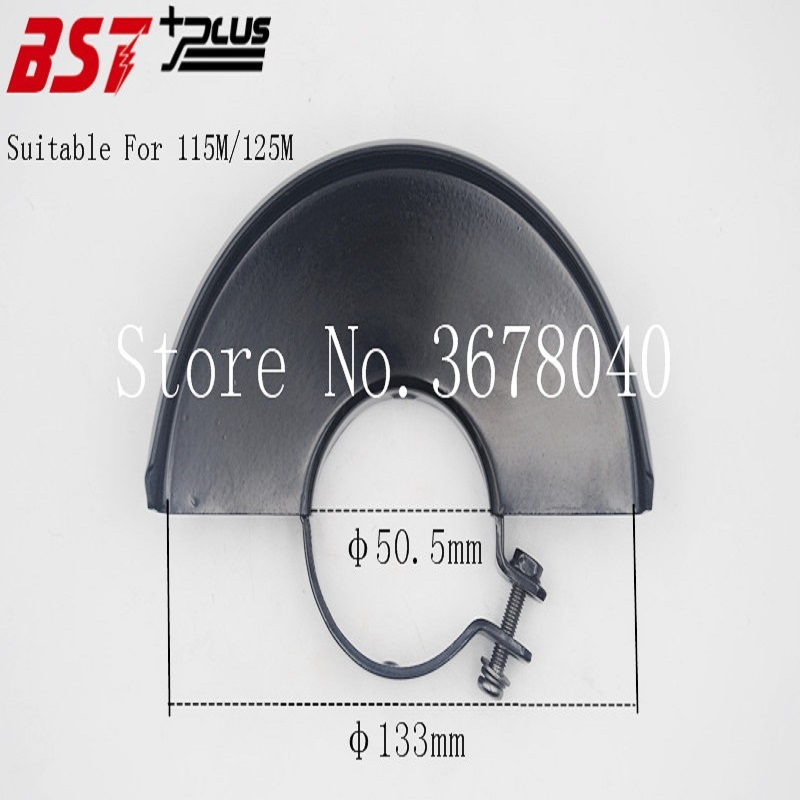 BLACK METAL 115/125MM DIA WHEEL SAFETY GUARD PROTECTOR COVER FOR ANGLE GRINDER,POWER TOOLS ACCESSOIRESBLACK METAL 115/125MM DIA WHEEL SAFETY GUARD PROTECTOR COVER FOR ANGLE GRINDER,POWER TOOLS ACCESSOIRES