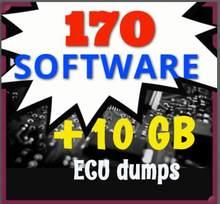 170 ecu de ajuste softwares + 10gb de plásticos ecu (após extrato) grande promoção