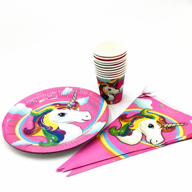 21PCS/LOT UNICORN PLATES MICKEY CUPS KIDS BIRTHDAY PARTY FAVORS HAPPY BIRTHDAY PARTY SUPPLIES UNICORN  sc 1 st  AliExpress.com & 21PCS/LOT UNICORN PLATES MICKEY CUPS KIDS BIRTHDAY PARTY FAVORS ...