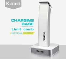T081 kemei rechargeable hair clipper electric shaving machine maquina de cortar o cabelo razor barber hair