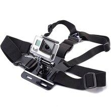 1 шт. нагрудный крепление для GoPro Hero 5 4 для Xiaomi Yi 4 К экшн-камеры Chest Mount Harness для Go Pro SJCAM SJ4000 Спорт камеры