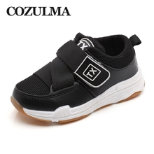 COZULMA Kids Fashion Sneakers Girls Boys Breathable Air Mesh Casual Shoes Children Running Baby Flat Size 21-30