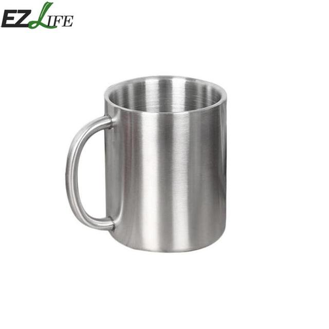 3c015e8497e 1 Pcs Stainless Steel Cup Coffee Mug Children Cup Thicken Insulated Cup Cup  Double Wall Drinking Tool Kitchen Tool