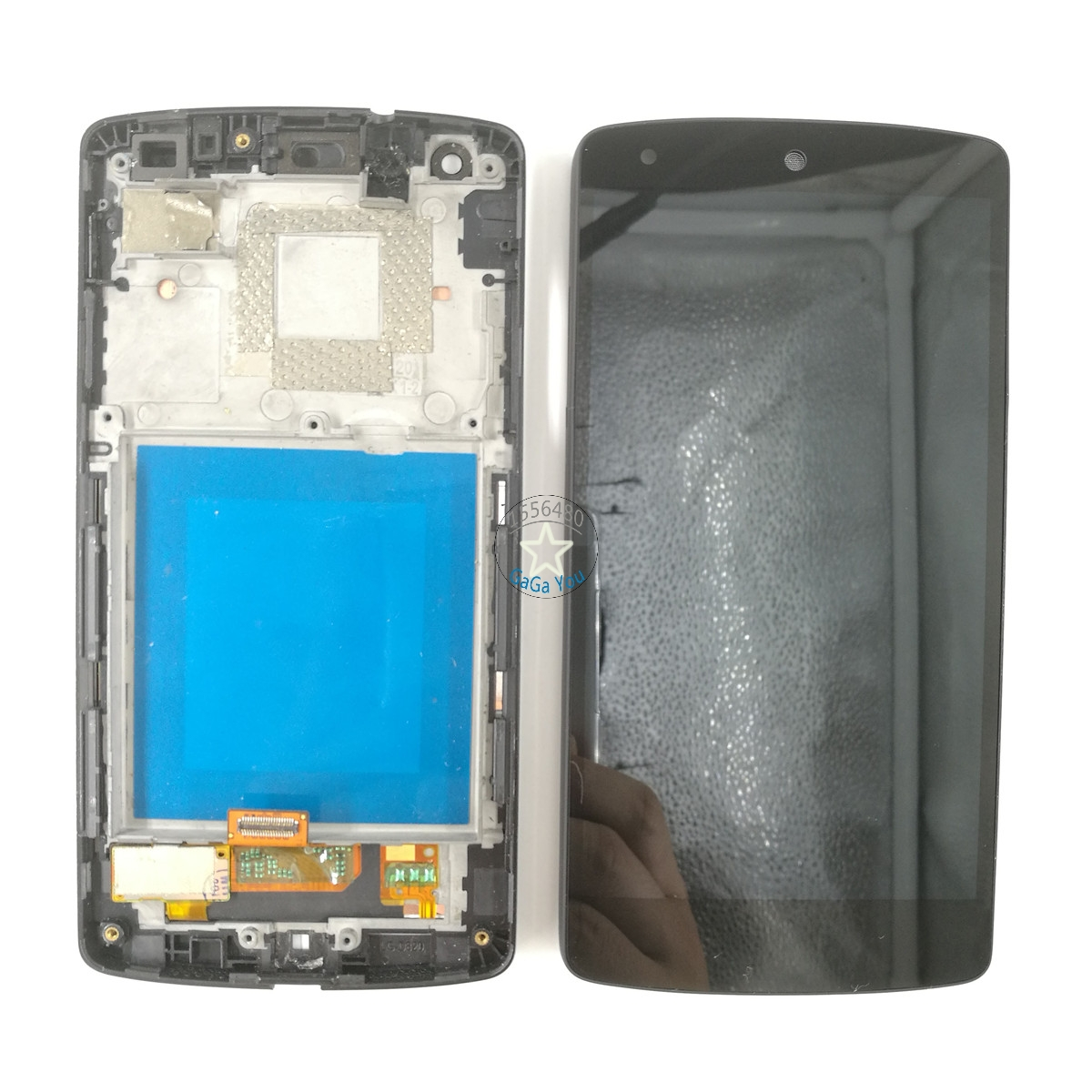 For LG Google Nexus 5 D820 D821 LCD Display Touch Screen Digitizer Assembly + Front Frame Bezel Replacement Parts lcd screen for lg d820 d821 google nexus 5 lcd lcd display touch screen digitizer assembly front housing frame free shipping