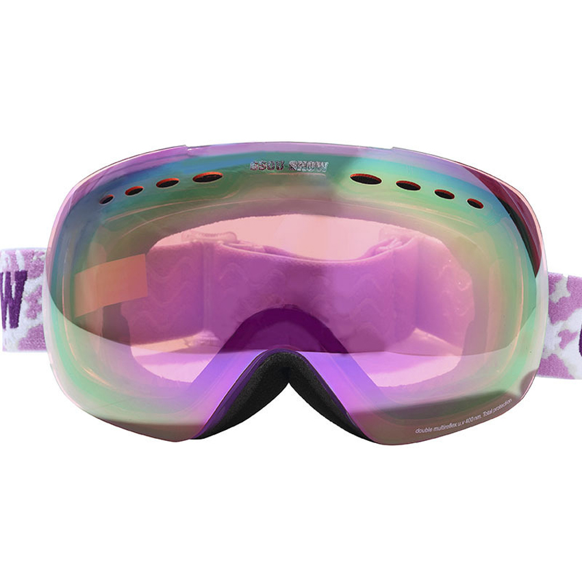 Men Women Winter Ski Goggles Double layers Outdoor Sport Anti-fog Eyewear Snowboarding Cycling Skiing Hiking UV400 Glasses MI008 pelliot brand ski goggles double layers