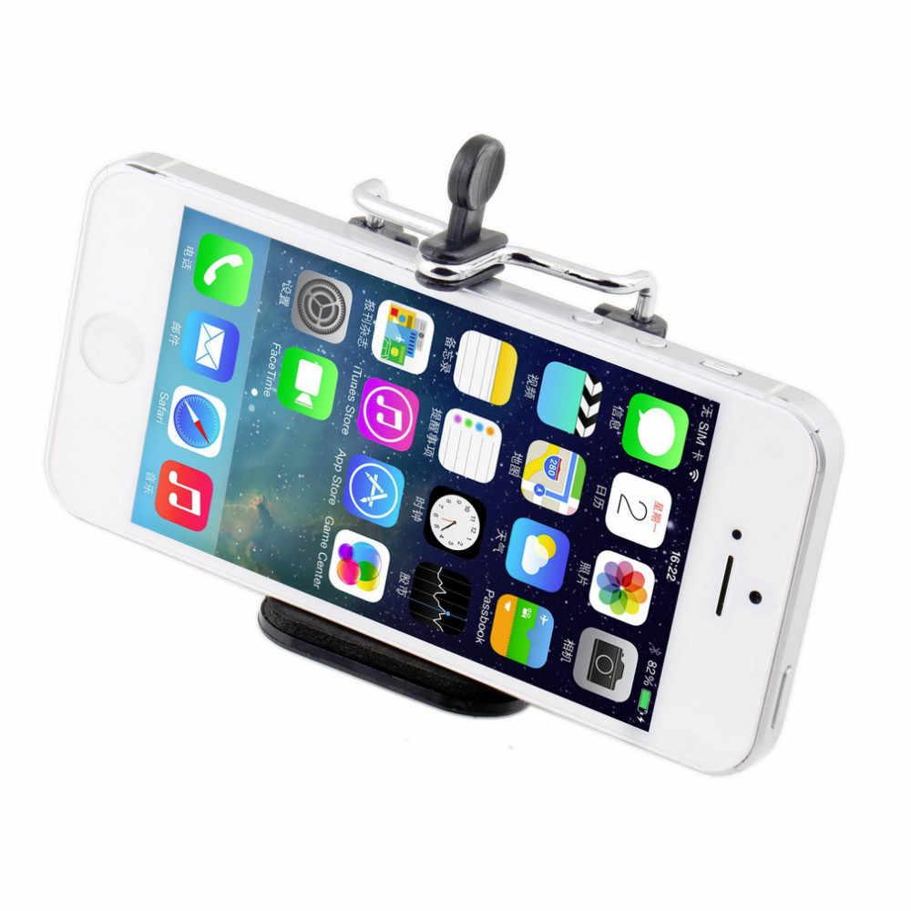 1 ST Aluminium Mobiele Telefoon Houder beugel Adapter Clip Voor Camera statief Voor iPhone Samsung HTC iPhone5 4 S 5 S 6 6 S smartphone