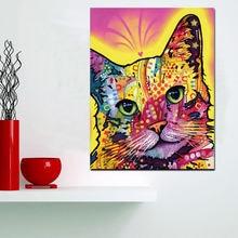 Hd печати абстрактная акварель картина маслом с изображением