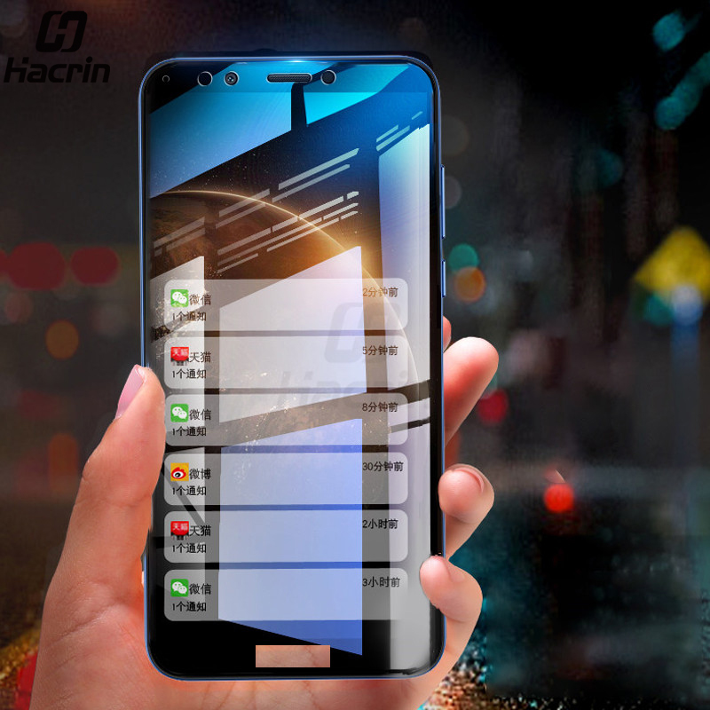 For Honor 7C Glass Tempered Glass Full Cover Screen Protector For Huawei Honor 7C Pro Protective Glass Exploxion Proof